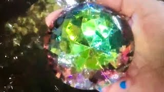 REAL GIANT  RAINBOW GEM FOUND IN THE LAKE ON FUN HOUSE TV
