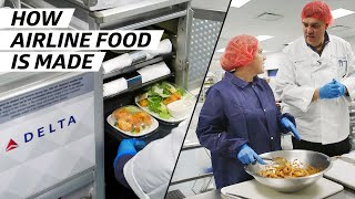 How Airplane Food Is Made to Be Served at 30,000 Feet — How To Make It thumbnail