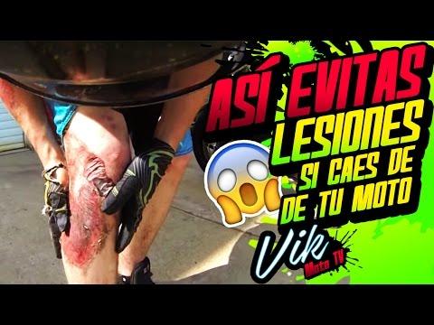 Usa esto para evitar lesiones en moto / Motovlog