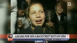 Locura por ver a Backstreet Boys en Viña 2019