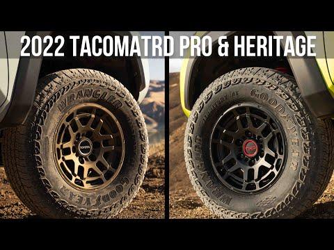 TEASED: 2022 Toyota Tacoma TRD PRO & Heritage [?]