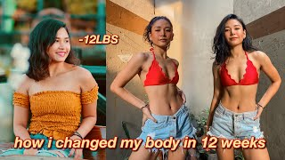 I Tried Chloe Ting Workouts For 12 Weeks And OMG 😲  *quarantine Fitness Transformation*