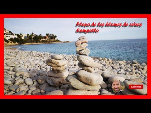 Las mejores playas de españa Alicante les Llomes de Reixes