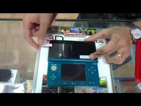 Cómo colocar un protector de pantalla y una funda de silicona para nuestra NINTENDO 3DS
