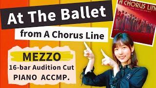 [16-bar Audition Cut] At The Ballet - Karaoke with Lyrics and Sheet music
