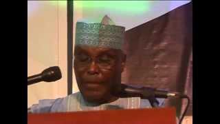 Former Vice President Atiku Abubakar Presidential Declaration