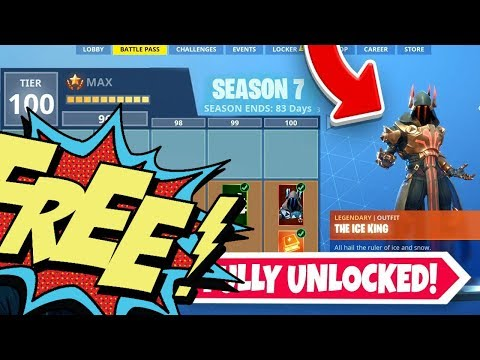 How To Get 100 Tiers In Battle Pass For Free Season 7 Fortnite
