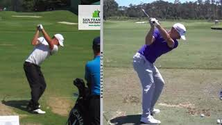 Alex Noren   Slow Motion Swing Analysis And Pre Shot Routine
