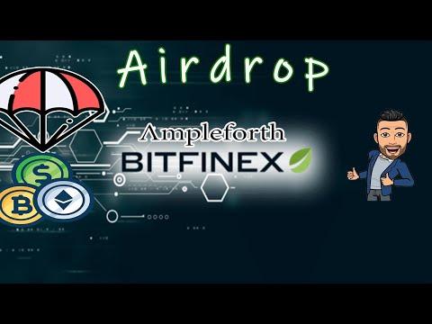 💢Exchange Bitfinex💢 Ganhe Muitos tokens no Airdrop Ampleforth , CORRE !