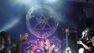 Absu - Intro + Swords and Leather (Live in Brazil 2016) Full HD