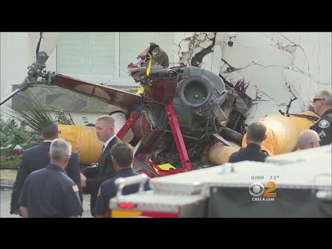 Deadly Helicopter Crash In Newport Beach