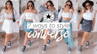 7 Ways To Style Converse   Black Platform Converse Lifts