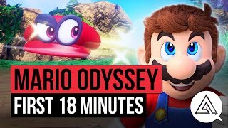 Super Mario Odyssey   First 18 Minutes of Gameplay