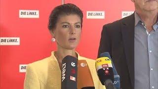 GROKO VOR ENDE: Linkspartei fordert Merkel zur Vertrauensfrage auf