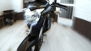 Septimo Video: Leds Para Mas Visibilidad Honda CB1 110 Cc