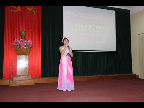 """Vòng sơ khảo Hội thi """"Tiếng hát nhớ ơn thầy cô"""" chào mừng ngày Nhà giáo Việt Nam 20-11-2020"""