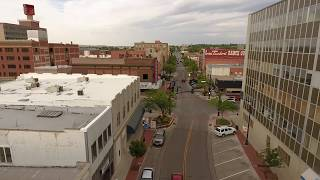 Downtown Casper Fly Through