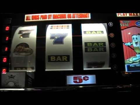 Slot machines At The Mandalay Bay hotel, Las Vegas