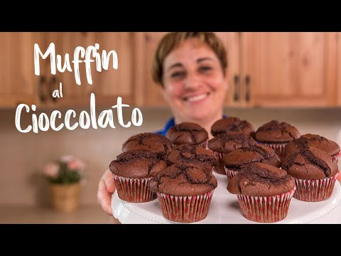 MUFFIN AL CIOCCOLATO Ricetta Facile di Benedetta - Chocolate Muffins Easy recipe