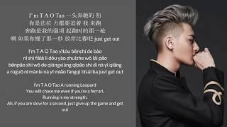 Hater - Tao黄子韬 歌词lyrics (with english translations and pinyin)