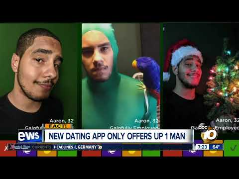 New dating app offers up only 1 man?