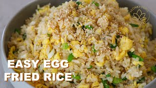 5 Minutes EASY Egg Fried Rice