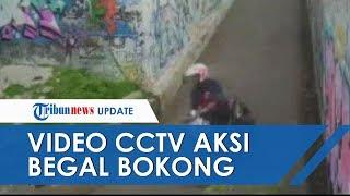 Begal Bokong Wanita di Kampung Melayu Terekam CCTV, Mahasiwi Jadi Korban