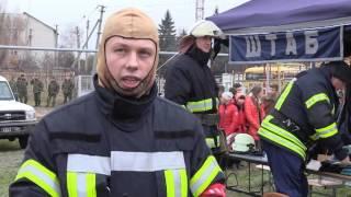 В Новоайдаре прошли учения спасателей