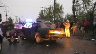 Серьезная авария на улице Мира - Абакан 24