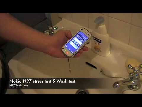 Nokia N97 Waterproof Experiment Tests Hypothesis That Nobody Ever Had