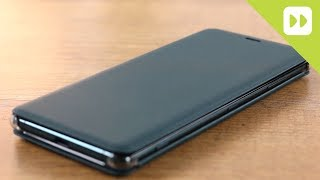 Official Sony XZ3 Flip Cover Review
