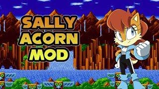 Sonic Mania - Sally Acorn Mod