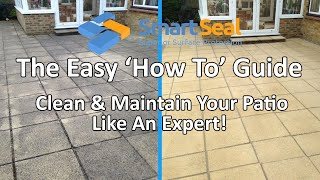 How To PATIO CLEANING & Maintaining Your Patio Like An Expert!