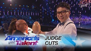 Jeki Yoo: Magician Amazes With Hidden Card Trick - America