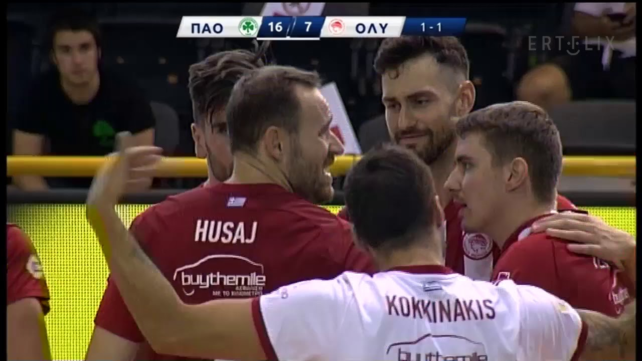 Volley League: ΠΑΝΑΘΗΝΑΪΚΟΣ – ΟΛΥΜΠΙΑΚΟΣ | HIGHLIGHTS | 12/07/20 | ΕΡΤ