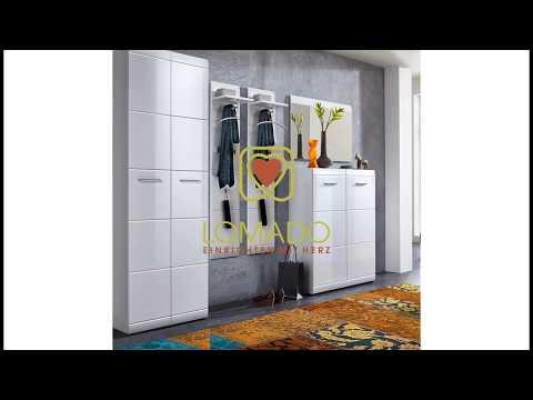 Garderobenmöbel Serie Danaro 01 Flur und Dielenmöbel Set