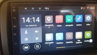 Central Multimídia Universal 7003 - DVD Car - PTBR