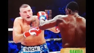 Mariusz Wach Vs Martin Bakole Fight TKO Highlights