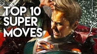 Injustice 2 - TOP 10 SUPER MOVES IN THE FULL GAME!! (Injustice 2 Finishers)