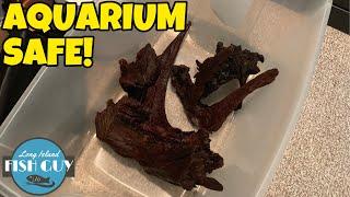 BEST Way To Prepare LARGE Driftwood For AQUARIUM!