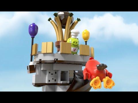 Конструктор Замок короля свинок - LEGO ANGRY BIRDS - фото № 8