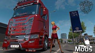ETS2 V1.33 I Mod ▶️ Scania R S Adons V3 Tuning