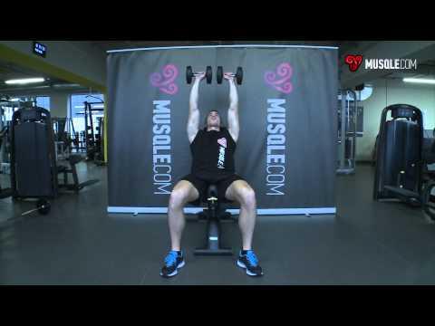 Dumbbell Incline Shoulder Raise