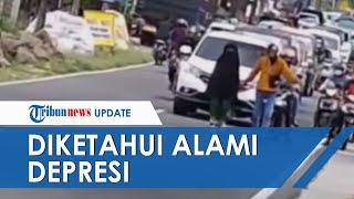 Fakta di Balik Wanita Bikin Macet Berjalan di Tengah Jalan Raya dan Enggan Minggir, Ini Kata Polisi