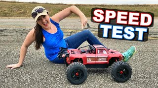 How FAST is the Arrma Outcast 8S RC Monster Truck Right Out of the Box? - TheRcSaylors
