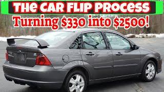 How I make big profits buying and selling cars - Flying Wheels