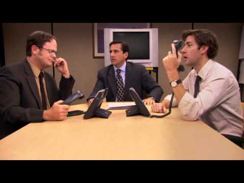 This scene from The Office rivals any scene from Glengarry Glen Ross