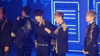 130615 Super Junior SS5 HK: Eunhyuk Introducing Himself In Chinese!!!