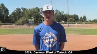 2021 Cameron Ward Athletic Shortstop Baseball Skills Video