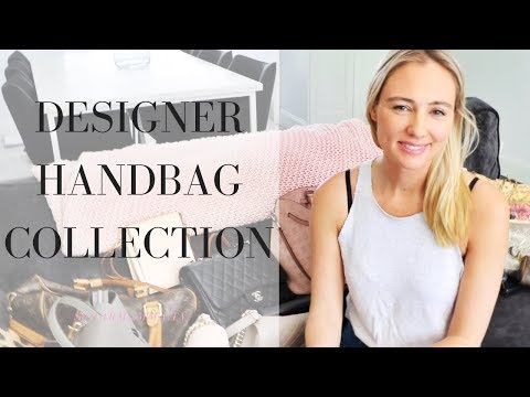 Handbag Tour ♥ Luxury Designer Bags ♥ Chanel, Gucci, Louis Vuitton || SugarMamma.TV